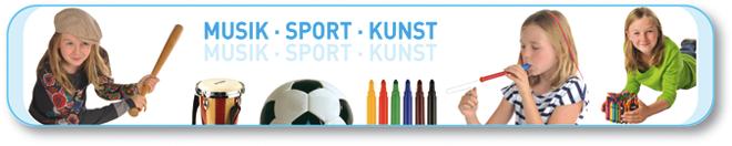 Musik · Sport · Kunst