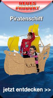 Piratenschiff zum Ausmalen