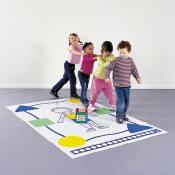 Körper-Lernspiel für Kindergärten
